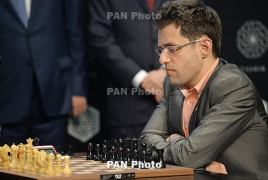 Armenia's Levon Aronian shares 2nd-3rd spots at Norway Chess