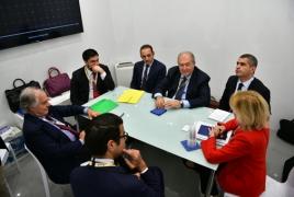 Հակադրոնային նորարարական լուծումների ոլորտում ՀՀ-ն կարող է գործակցել Elettronica Group-ի հետ