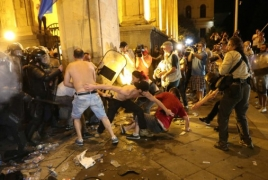 Armenian citizen arrested amid Tbilisi unrest