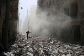 Syrian Air Force destroys militant base in western Aleppo