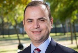 Armenia's Diaspora Commissioner seeks to mobilize connections in U.S.