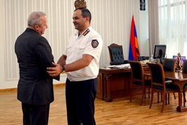 Գլխավոր դատախազն ու ՌԴ դեսպանը քննարկել են ՀՀ-ում դատաիրավական բարեփոխումները