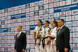 Young Armenian judoka named European champion in Warsaw