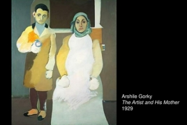 Gorky piece on show at exhibit on history of migration in America