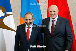 Armenia PM, Belarus President discuss relations within EAEU