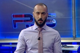 Georgian TV host suspended for making vulgar anti-Putin comments