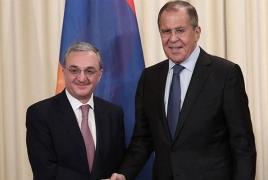 ՀՀ և ՌԴ ԱԳ նախարարները հանդիպել են. Քննարկվել են հայ-ռուսական օրակարգի հարցեր