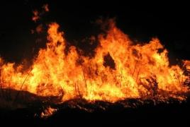 Ծիծեռնակաբերդում հրդեհի հետևանքով մոտ 20 հա բուսածածկույթ է այրվել