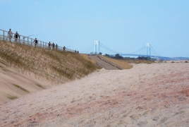 New York building big wall to protect Staten Island