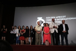 16th Golden Apricot International Film Festival wraps in Yerevan