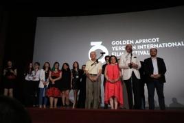 16th Golden Apricot International Film Festival wraps in Yerevan