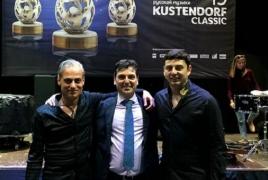 Армянские музыканты приняли участие в фестивале Кустурицы Kustendorf Classic