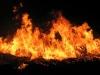 Возникший в результате обстрела азербайджанцев пожар в армянском селе потушен