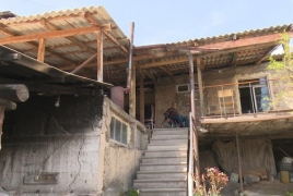 Family in remote Armenian village will have a descent house soon