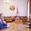 Բակո Սահակյանն ու Արմեն Գրիգորյանը քննարկել են գործակցությունն անվտանգության ոլորտում