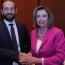 Միրզոյանի հետ հանդիպմանը Փելոսին կարևորել է ՀՀ-ում ժողովրդավարական փոփոխությունները
