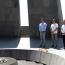 Nuno Gomes visits Armenian Genocide memorial in Yerevan