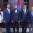 Parliament speaker meets members of Armenian organizations in D.C.