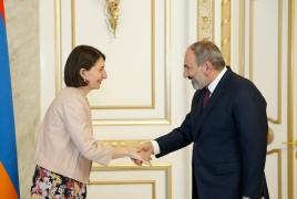 Pashinyan hosts New South Wales Premier Berejiklian in Yerevan