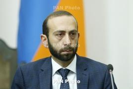 Armenia parliament speaker meets U.S. lawmakers in D.C.