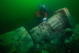 Mysterious destroyed temple discovered underwater in Egypt