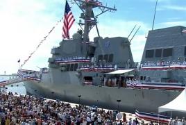 New U.S. Navy destroyer honors Armenian-American Paul Ignatius