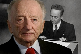 Benjamin Ferencz joins Aurora Prize Selection Committee