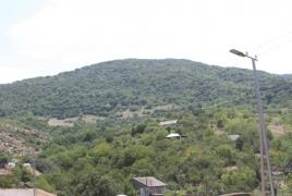 Armenian border village gets new lighting system