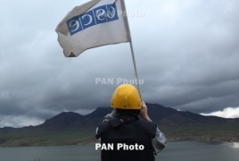 OSCE Mission conducts monitoring on Armenia-Azerbaijan border