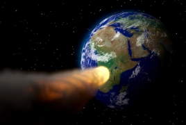 Great Pyramid-sized asteroid traveling towards Earth