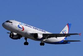 Самолет с загоревшимся двигателем сел на кукурузном поле в Подмосковье: На борту было 234 человека