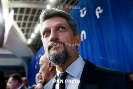 Turkish-Armenian lawmaker addresses Argentine Congress