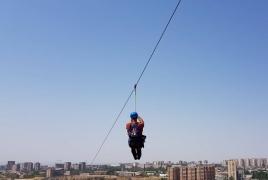 «Ճախրել տիեզերքում» կարելի է նաև Երևանում. Ինչպես հաղթահարեցի բարձրության վախը Yerevan Zipline-ի միջոցով