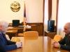 Artsakh President meets OSCE envoy in Stepanakert