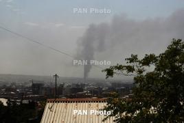 Արշակունյացում ծխի պատճառը սառնարանային շինության հրդեհն է՝ բռնկված դեռ օգոստոսի 19-ին