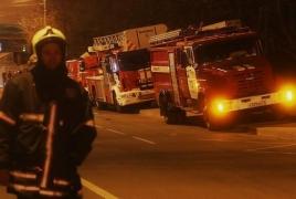 Հրդեհ Պետերբուրգում. Այրվող շոգենավից 300 մարդ է տարհանվել, 1 զոհ կա
