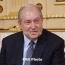 Սարգսյանը շնորհավորել է Մոլդովայի նախագահին Անկախության օրվա առթիվ