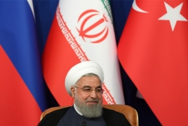 Iran says no talks with U.S. until sanctions are lifted