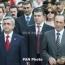 Սերժ Սարգսյանը հաջողություն է մաղթել Քոչարյանին՝ հանուն արդարադատության նրա պայքարում