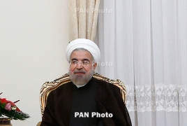 Iran President to arrive in Armenia