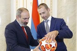 2019-ին ՈւԵՖԱ-ի աջակցությամբ ՀՀ մարզերում արհեստական խոտածածկով 76 խաղադաշտ կկառուցվի