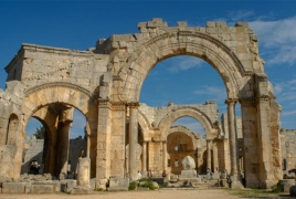 Turkish military sabotages historic church in Syria's Afrin: report