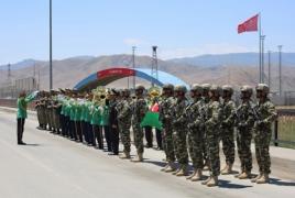 Azerbaijan holding military exercises in Nakhijevan