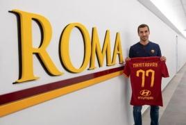 Petrachi: Henrikh Mkhitaryan made financial sacrifices to join Roma