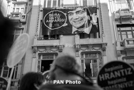 Istanbul memorial site remembers Armenian-Turkish editor Hrant Dink