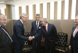 Armenia says wants deeper ties with Czech Republic