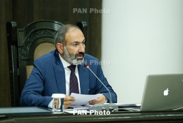 Armenia PM monitoring large-scale drills in country's south