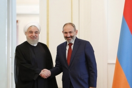 Iran ready to produce energy from gas, wind and sun in Armenia