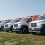 Երևան է հասել ևս 5 նոր աղբատար մեքենա