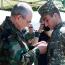 Президент Арцаха наградил отразивших диверсию ВС Азербайджана и сбивших БПЛА военнослужащих